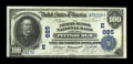 National Bank Notes:Pennsylvania, Pittsburgh, PA - $100 1902 Date Back Fr. 689 The Farmers Deposit NBCh. # (E)685. ...