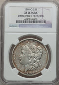 Morgan Dollars: , 1895-O $1 -- Improperly Cleaned -- NGC Details. XF. NGC Census:(335/2893). PCGS Population (456/2712). Mintage: 450,000. N...