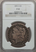 Morgan Dollars: , 1895-S $1 Fine 12 NGC. NGC Census: (96/1520). PCGS Population(151/2604). Mintage: 400,000. Numismedia Wsl. Price for probl...