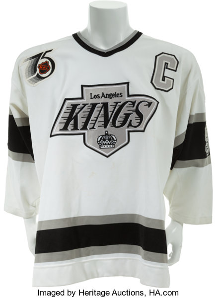 newest collection 49c6d c1353 1991-92 Wayne Gretzky Game Worn Los Angeles Kings Jersey ...