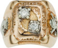 Baseball Collectibles:Others, 1945 Detroit Tigers World Championship Ring Presented to EddieMayo....
