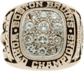 Hockey Collectibles:Others, 1970 Boston Bruins Stanley Cup Championship Ring Presented to WayneCashman....