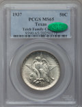 Commemorative Silver: , 1937 50C Texas MS65 PCGS. CAC. PCGS Population (647/451). NGCCensus: (439/430). Mintage: 6,571. Numismedia Wsl. Price for ...