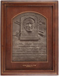 Baseball Collectibles:Others, 1939 Walter Johnson Presentational Hall of Fame Plaque....