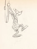 Animation Art:Production Drawing, Hawaiian Holiday Goofy Production Drawings (Walt Disney,1937).... (Total: 15 Original Art)