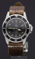 Timepieces:Wristwatch, Tudor Rare Ref. 7928 Oyster Prince, Pointed Crown Guard Rolex Case,circa 1963. ...