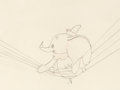 Animation Art:Production Drawing, Dumbo Production Drawing (Walt Disney, 1941)....