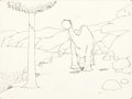 Animation Art:Production Drawing, Winsor McCay Gertie the Dinosaur Production Drawing(1914)....