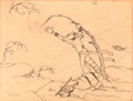 Animation Art:Production Drawing, The Grasshopper and the Ant Storyboard (Walt Disney,1934)....