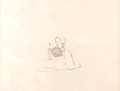 Animation Art:Production Drawing, Snow White and the Seven Dwarfs Snow White Production Drawing (Walt Disney, 1937)....