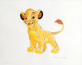 Animation Art:Production Drawing, Gene Ware The Lion King Simba Drawing (undated)....