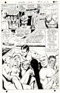 "Original Comic Art:Complete Story, Jack Sparling Secret Six #5 Complete 22-Page Story ""TheQueen Without a Crown"" Original Art (DC, 1968)...."