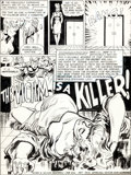 "Original Comic Art:Complete Story, Jack Sparling Secret Six #6 Complete 21-Page Story ""TheVictim is a Killer"" Original Art (DC, 1969).... (Total: 21 Items)"