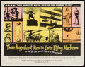 "Movie Posters:Adventure, Those Magnificent Men in Their Flying Machines & Others Lot(20th Century Fox, 1965). Half Sheets (4) (22"" X 28""). Adventure...(Total: 4 Items)"