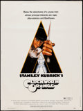 """Movie Posters:Science Fiction, A Clockwork Orange (Warner Brothers, 1971). Poster (30"""" X 40"""") R Rated Style. Science Fiction.. ..."""