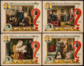 """Movie Posters:Mystery, The Million Dollar Mystery (Rayart Pictures, 1927). Lobby Cards (4)(11"""" X 14""""). Mystery.. ... (Total: 4 Items)"""