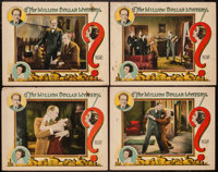 """The Million Dollar Mystery (Rayart Pictures, 1927). Lobby Cards (4) (11"""" X 14""""). Mystery. ... (Total: 4 Items)"""