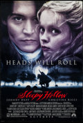 "Movie Posters:Fantasy, Sleepy Hollow (Paramount, 1999). One Sheet (26.75"" X 39.75"") DS Advance. Fantasy.. ..."