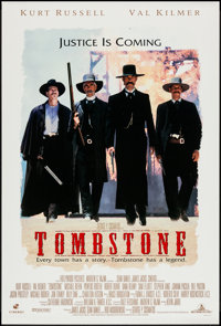 "Tombstone (Buena Vista, 1993). One Sheet (27"" X 40"") DS. Western"