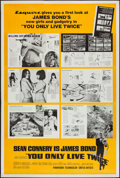 """Movie Posters:James Bond, You Only Live Twice (United Artists, 1967). Poster (40"""" X 60"""") Esquire Magazine Style. James Bond.. ..."""