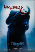 """Movie Posters:Action, The Dark Knight (Warner Brothers, 2008). One Sheet (27"""" X 41"""") DSAdvance """"Why So Serious?"""" Style. Action.. ..."""