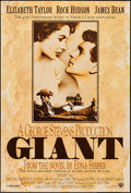 """Movie Posters:Drama, Giant (Warner Brothers, R-1996). 40th Anniversary One Sheet (27"""" X 40""""). Drama.. ..."""