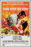 "Movie Posters:Academy Award Winners, Gone with the Wind (MGM/UA, R-1980). One Sheet (27"" X 41""). AcademyAward Winners.. ..."