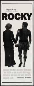 "Movie Posters:Academy Award Winners, Rocky (United Artists, 1977). Insert (14"" X 36""). Academy Award Winners.. ..."