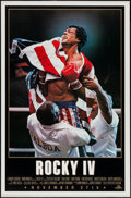 "Movie Posters:Sports, Rocky IV (MGM/UA, 1985). One Sheets (2) (27"" X 41"") Advance, Two Styles. Sports.. ... (Total: 2 Items)"
