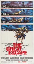 """Movie Posters:War, The Great Escape (United Artists, 1963). Three Sheet (41"""" X 79"""").War.. ..."""