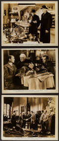 "Movie Posters:Crime, Sherlock Holmes and the Secret Weapon (Universal, 1942). Photos (3)(8"" X 10""). Crime.. ... (Total: 3 Items)"