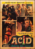 "Movie Posters:Foreign, Acid (Delirio dei Sensi) (I.N.D.I.E.F (International Nembo Distribuzione Imp, 1968). Italian 2 - Foglio (39"" X 55""). Foreign..."