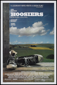 """Hoosiers & Other Lot (Orion, 1986). One Sheets (2) (27"""" X 40"""" & 27"""" X 41"""") SS & DS. Spor..."""
