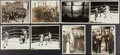 Boxing Collectibles:Memorabilia, 1927 Dempsey Vs. Tunney Original Photographs Lot of 8....