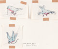"animation art:Model Sheet, Chuck Jones ""Very Early Bird"" Model Sheet (Warner Brothers., c.1938-41)...."