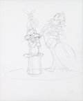 Animation Art:Production Drawing, Chuck Jones Bugs Bunny and Daffy Duck Illustration Original Art(Warner Brothers, 2012)....