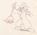 Animation Art:Production Drawing, Mighty Mouse Oil Can Harry Production Drawing (Terrytoons,1940s)....