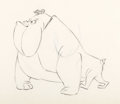 animation art:Model Sheet, Cat Feed Mark Antony Model Drawing (Warner Brothers, 1958)....