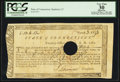 Colonial Notes:Connecticut, Connecticut Fiscal Paper Treasury Office June 1, 1782 PCGS ApparentVery Fine 30.. ...