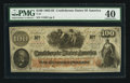 Confederate Notes:1862 Issues, Issued San Antonio, TX T41 $100 1862.. ...