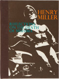 Books:Literature 1900-up, Henry Miller. INSCRIBED. Reflections on the Death ofMishima. Capra Press, 1972. First edition. Inscribed and ...