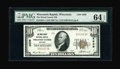 National Bank Notes:Wisconsin, Wisconsin Rapids, WI - $10 1929 Ty. 1 The Wood County NB Ch. # 4639. ...