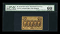 Fractional Currency:First Issue, Fr. 1279 25¢ First Issue PMG Gem Uncirculated 66 EPQ....