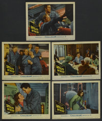 "Satellite In The Sky (Warner Brothers, 1956). Lobby Cards (5) (11"" X 14""). Science Fiction"