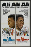 """Movie Posters:Sports, Ali The Man: Ali The Fighter (CineAmerica Releases, 1975). One Sheet (27"""" X 41""""). Sports Documentary. ..."""