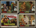 "Movie Posters:Drama, The Beachcomber (Paramount, R-1949). Lobby Card Set of 4 (11"" X 14""). Drama. ..."