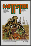 "Movie Posters:Black Films, Wattstax (Columbia, 1973). One Sheet (27"" X 41""). Black Films. ..."