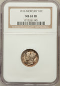 Mercury Dimes: , 1916 10C MS65 Full Bands NGC. NGC Census: (621/425). PCGSPopulation (871/458). Mintage: 22,180,080. Numismedia Wsl. Price...