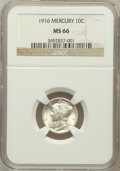 Mercury Dimes: , 1916 10C MS66 NGC. NGC Census: (47/5). PCGS Population (20/4).Mintage: 22,180,080. Numismedia Wsl. Price for problem free ...