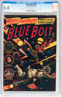 Golden Age (1938-1955):Science Fiction, Blue Bolt #108 (Star Publications, 1951) CGC FN 6.0 Cream tooff-white pages....